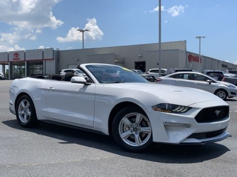 Pre-Owned 2019 Ford Mustang EcoBoost RWD 2D Convertible