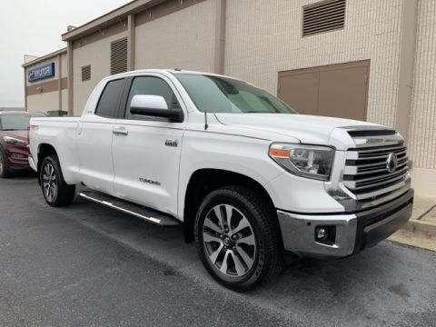 Pre-Owned 2018 Toyota Tundra Limited RWD 4D Double Cab