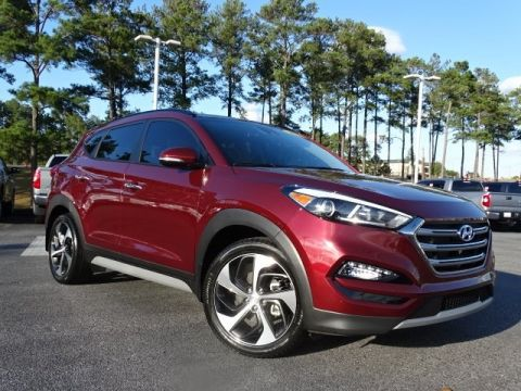 Pre-Owned 2017 Hyundai Tucson Limited FWD 4D Sport Utility