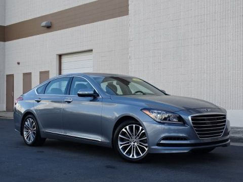 Pre-Owned 2017 Genesis G80 3.8 Rear Wheel Drive 4D Sedan